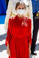 Queen Letizia Attends Patron Of the Municipal Police