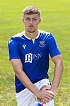 Reece Devine, St Johnstone FC...2021-22 Season<br />Picture by Graeme Hart.<br />Copyright Perthshire Picture Agency<br />Tel: 01738 623350  Mobile: 07990 594431