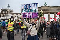 2020/11/18 Politik | Querdenker | Bundestagsblockade