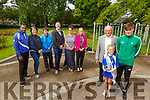 The Tralee Harriers Running Club launching their Rose of Tralee 10k on Tuesday in the Town Park.<br /> Front l to r: Pat Martin Fitzgerald (Chairman of Tralee Harriers), Sophie Constable and Killian Griffin.<br /> Back l to r: Travane Morrison, Una O'Mahoney, Alan Balfe (Tralee Wetlands), Louie Byrnes (Byrne Spar), Michelle Constable (Ballyseedy Home and Garden) and Leonie Flaherty (The Ashe Hotel).