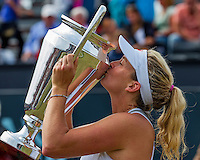Den Bosch, Netherlands, 12 June, 2016, Tennis, Ricoh Open, Winner Coco Vandeweghe (USA)<br /> Photo: Henk Koster/tennisimages.com