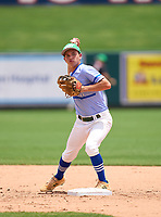 Seacrest Country Day Stingrays Matt Riley (4) during practice before the 42nd Annual FACA All-Star Baseball Classic on June 5, 2021 at Joker Marchant Stadium in Lakeland, Florida.  (Mike Janes/Four Seam Images)
