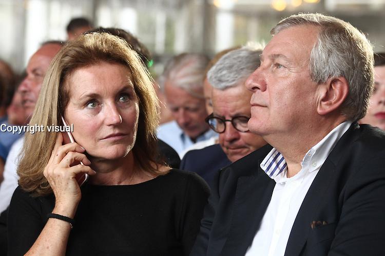 Richard et CÈcilia Attias - UniversitÈ d'ÈtÈ du MEDEF, 31 Aout 2016, Jouy-en-Josas, France