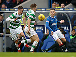 Barrie McKay with James Forrest and Mikael Lustig