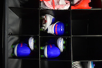 Atlanta, GA - Sunday Sept. 18, 2016: Shoes prior to a international friendly match between United States (USA) and Netherlands (NED) at Georgia Dome.