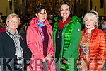 l-r Anna Marie Courtney from Killarney, Lucia Power from Currow, Evelyn Finnegan from Currow and Brigid Riordan from Killarney pictured at the Kingdom Gospel Choirs charity concert in aid of MS Ireland at the Killarney Friary last Sunday evening.