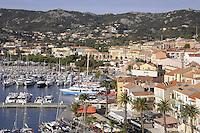 - Corsica, Calvi, view of the city and harbor<br /> <br /> - Corsica, Calvi, veduta della città e del porto