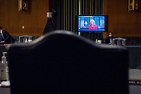 """Mississippi State Attorney General Lynn Fitch testifies via remote video, during a United States Senate Committee on the Judiciary hearing entitled """"The Foreign Sovereign Immunities Act, Coronavirus, and Addressing Chinaís Culpability"""" in the Dirksen Senate Office Building on Capitol Hill in Washington, DC., Tuesday, June 23, 2020. <br /> Credit: Rod Lamkey / CNP/AdMedia"""