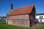 Great Britain, England, Suffolk, Aldeburgh: The Moot Hall, built around 1520 as a meeting house