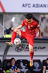 Ngan Van Dai of Vietnam in action during the AFC Asian Cup UAE 2019 Group D match between Vietnam (VIE) and I.R. Iran (IRN) at Al Nahyan Stadium on 12 January 2019 in Abu Dhabi, United Arab Emirates. Photo by Marcio Rodrigo Machado / Power Sport Images