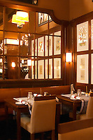 The dining room at the classic gastronomic restaurant Prinsen i Vasastan Stockholm, Sweden, Sverige, Europe