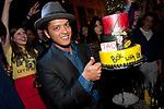 Grammy winner, Bruno Mars, celebrates his concert after party w a special performance at TAO Nightclub, Las Vegas, NV, June 16, 2011 © Al Powers / RETNA ltd