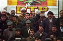 Turkey 2005 People of  Dogubayazit at a rally of DTP, the Democratic Society Party.  Turquie 2005 Gens de Dogubayzit participant au rassemblement du DTP, parti pro-kurde souvent interdit et renaissant sous d'autres noms.