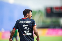 LAKE BUENA VISTA, FL - JULY 14: Jonathan Bornstein #3 of the Chicago Fire looks on during a game between Seattle Sounders FC and Chicago Fire at Wide World of Sports on July 14, 2020 in Lake Buena Vista, Florida.