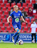 Gent's Heleen Jaques (4)  pictured during a female soccer game between Zulte Waregem and the KAA Gent Ladies on the fourth matchday of the 2020 - 2021 season of Belgian Scooore Womens Super League , saturday 10 October 2020  in Waregem , Belgium . PHOTO SPORTPIX.BE | SPP | DAVID CATRY