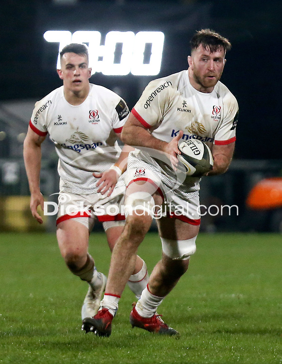 19th March 2021;   Alan O'Connor during the final round of the Guinness PRO14 against Zebre Rugby held at Kingspan Stadium, Ravenhill Park, Belfast, Northern Ireland. Photo by John Dickson/Dicksondigital