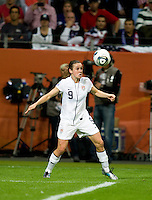 Heather O'Reilly.  Japan won the FIFA Women's World Cup on penalty kicks after tying the United States, 2-2, in extra time at FIFA Women's World Cup Stadium in Frankfurt Germany.