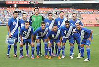 Guatemala starting eleven.  Guatemala tied Paraguay 3-3 in a international friendly match at RFK Stadium, Wednesday August 15, 2012.