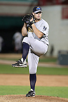 Trenton Thunder Relief Pitcher Kevin Whelan (26) during a game vs. the Erie Seawolves at Jerry Uht Park in Erie, Pennsylvania;  June 23, 2010.   Trenton defeated Erie 12-7  Photo By Mike Janes/Four Seam Images