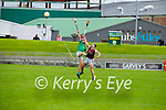 Tussle for possession between Bryan Murphy of Causeway and JP O'Carroll of Ballyduff in round 2 of the County Senior Hurling championship,