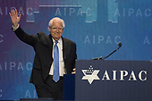 United States Ambassador to Israel David Friedman arrives to speak at the American Israel Public Affairs Committee (AIPAC) 2018 Policy Conference at the Washington Convention Center in Washington, DC on Tuesday, March 6, 2018.<br /> Credit: Ron Sachs / CNP