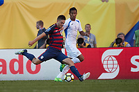 Cleveland, Ohio - Saturday, July 15, 2017: Kelyn RoweUSMNT vs Nicaragua in CONCACAF Gold Cup 2017 match at First Energy Stadium.