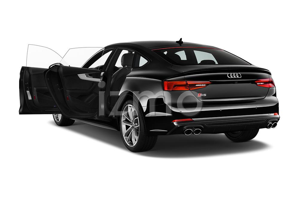 Car images close up view of a 2017 Audi S5 Sportback Base 5 Door Hatchback doors