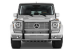 Straight front view of a 2008 Mercedes Benz G55 AMG