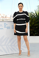"""CANNES, FRANCE - JULY 13: Director Linh-Dan Pham attends the """"Blue Bayou"""" photocall during the 74th annual Cannes Film Festival on July 13, 2021 in Cannes, France. <br /> CAP/GOL<br /> ©GOL/Capital Pictures"""
