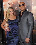 Katee Sackhoff and Vin Diesel<br />  at The Universal Pictures' World Premiere of Riddick held at The Westwood Village in Westwood, California on August 28,2013                                                                   Copyright 2013 Hollywood Press Agency