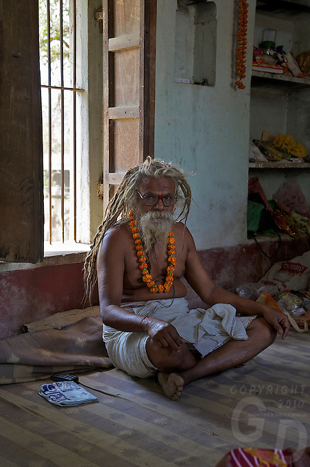 Rameshwar Village and Hindu Temple 15 km from Varanasi, India