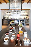 Modern inox kitchen