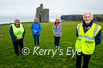 Taking part in the Kerry Hospice virtual walk on Saturday in Ballybunion. Front right: Padraig O'Sullivan. Back l to r: Phil Scanlon, Sylvia O'Sullivan and Phil Buckley.