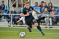 San Jose, CA - Wednesday June 28, 2017: Tommy Thompson during a U.S. Open Cup Round of 16 match between the San Jose Earthquakes and the Seattle Sounders FC at Avaya Stadium.