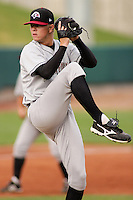 August 5, 2009:  John Lamb of the Idaho Falls Chukars, Rookie Class-A affiliate of the Kansas City Royals, during a game at the Orem Owlz Ballpark in Orem, UT. Photo by: Matthew Sauk/Four Seam Images
