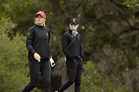 STANFORD, CA - APRIL 25: Amelia Garvey at Stanford Golf Course on April 25, 2021 in Stanford, California.