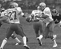 Chuck Ealey Winnipeg Blue Bombers quarterback 1974.Photo Scott Grant