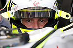 03 Apr 2009, Kuala Lumpur, Malaysia ---     Brawn GP Formula One Team driver Jenson Button of Great Britain in the first practice session during the 2009 Fia Formula One Malasyan Grand Prix at the Sepang circuit near Kuala Lumpur. Photo by Victor Fraile --- Image by © Victor Fraile/Corbis