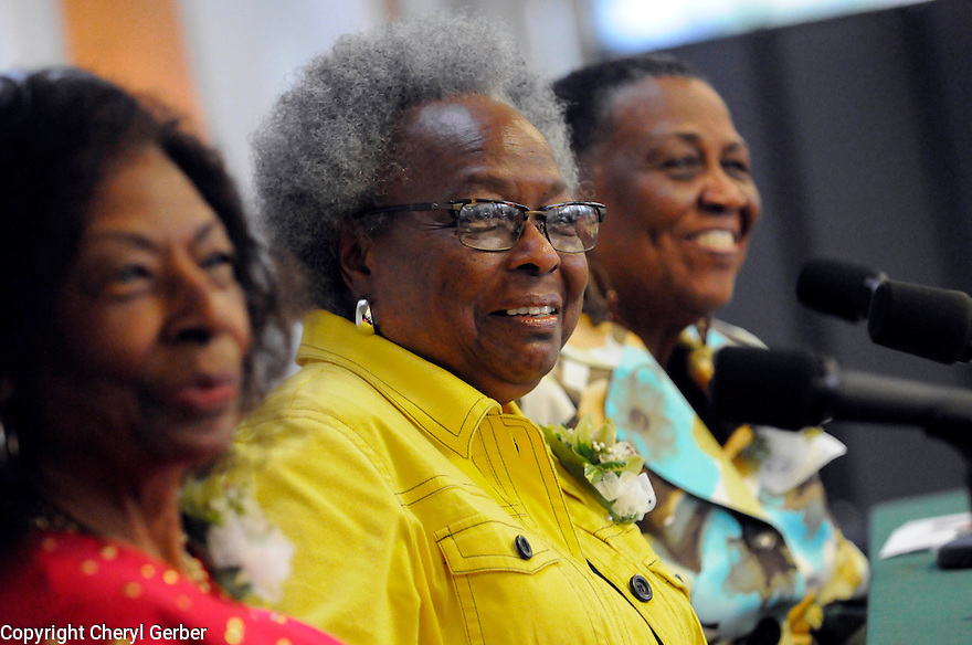 Tulane's School of Social Work's  annual field instructors' workshop featuring panelists Gloria Bryant Banks, Pearlie Elloie, and Marilyn Piper Riley, the first African American graduates of TSSW..