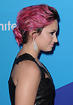 """Demi Lovato attends unite4:good and Variety presentation """"unite4:humanity"""" Celebrating Good, Giving and Greatness Around the Globe held at Sony Picture Studios in Culver City, California on February 27,2014                                                                               © 2014 Hollywood Press Agency"""