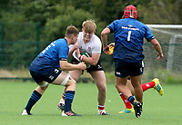 Saturday 5th September 2021<br /> <br /> Jack Boal during U19 inter-pro between Ulster Rugby and Leinster at Newforge Country Club, Belfast, Northern Ireland. Photo by John Dickson/Dicksondigital