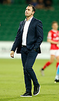 18th April 2021; HBF Park, Perth, Western Australia, Australia; A League Football, Perth Glory versus Wellington Phoenix; Richard Garcia head coach of Perth Glory after his sides loss to Wellington by 1-3
