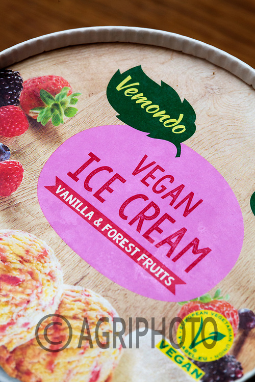 17-2-2021 Vegan Ice Cream<br /> ©Tim Scrivener Photographer 07850 303986<br />      ....Covering Agriculture In The UK....