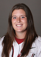 STANFORD, CA - OCTOBER 29:  Alix Van Zandt of the Stanford Cardinal softball team poses for a headshot on October 29, 2009 in Stanford, California.