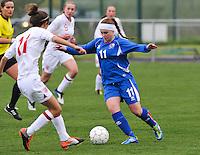 UEFA Women's Under 17 Championship - Second Qualifying round - group 1 : England - Iceland : .Telma Thrastardottir.foto DAVID CATRY / Vrouwenteam.be