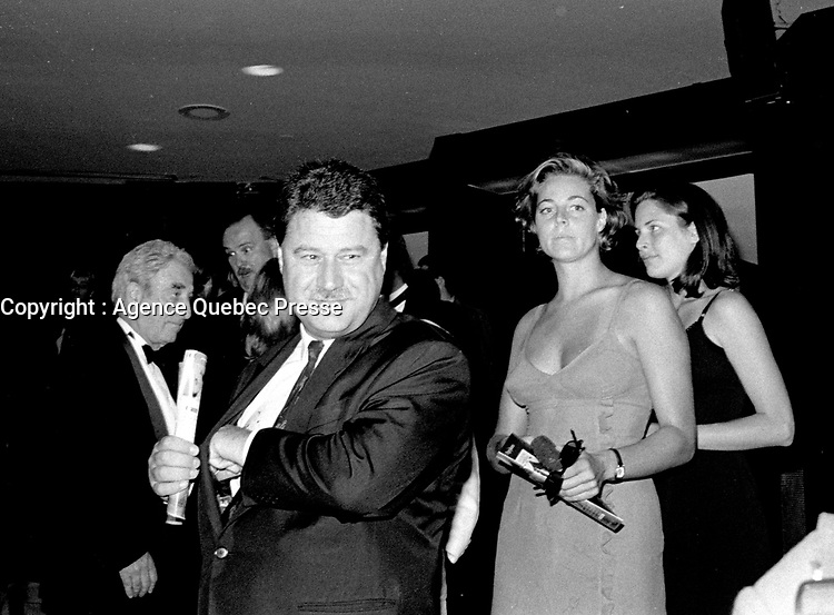 September 27, 1998 - Robert Lantos, ALLIANCE,  attend the opening of the World Film Festival at Place-des-arts