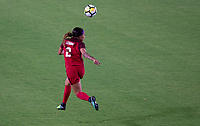 Carson, CA - Thursday August 03, 2017: Sydney Leroux during a 2017 Tournament of Nations match between the women's national teams of the United States (USA) and Japan (JAP) at StubHub Center.