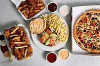 Food photo-shoot for Pizza Venice restaurant, Swansea, Wales, UK. Monday 18 September 2017