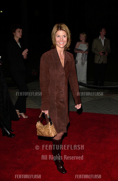 Actress LORI LOUGHLIN at the world premiere, in Los Angeles, of Lucky Numbers..24OCT2000.  © Paul Smith / Featureflash