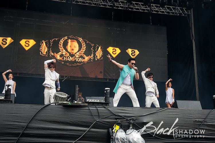 PSY performing at Future Music Festival, Flemington Racecourse, Melbourne, 10 March 2013